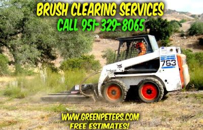 Brush Clearing Services in Temecula