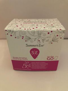 Summer s Eve Cleansing Cloths Sensitive- 1 of 2