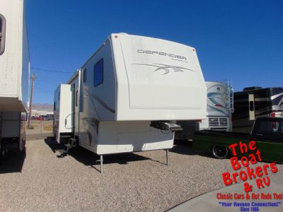 2009 ALPENLITE DEFENDER TOY HAULER 5TH WHEEL 38