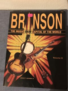 Autographed Copy of Branson - The Music Show Capital of the World