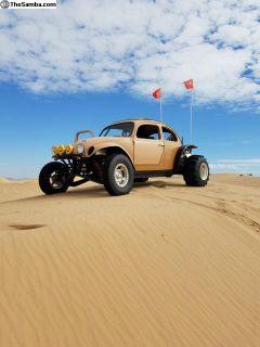 1960 Ragtop A-Arm Long Travel 2.4L Ecotec Baja Bug