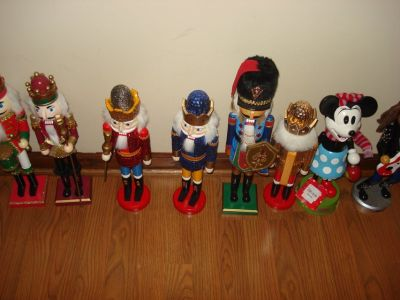 nutcrackers-dept. 56-hallmark- & more - it's all here at Private Collector's Esate Sale 11/16 & ...