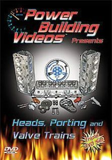 Sell Power Building Videos D-HPV Heads, Porting and Valve Trains DVD motorcycle in Delaware, Ohio, United States, for US $34.99