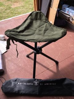 Boy Scouts Outdoor Stool with Bag Cover