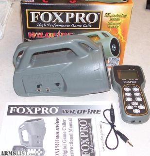 For Sale/Trade: FoxPro call and Predator Tactics Red light kit combo priced to sell