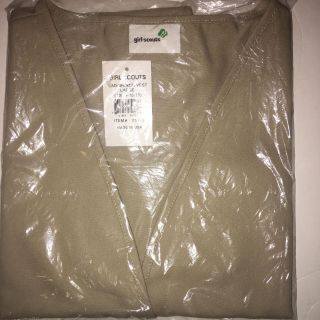 Girl Scout Vest Large NWT cross posted