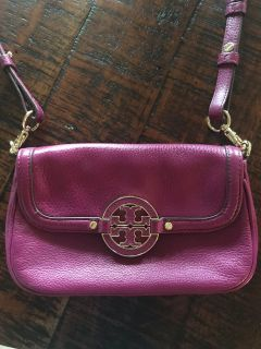 Tory Burch small cross body. Purple/ pink color. Similar to the one in the picture (Black).
