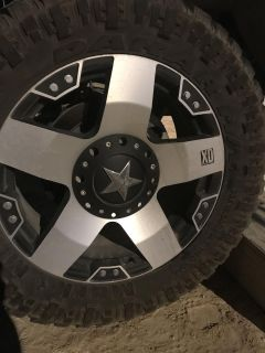 20 rims and tires