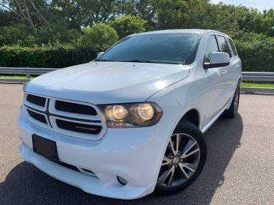 2013 Dodge Durango SXT (White)