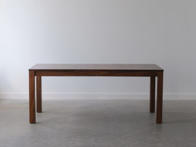 Parsons Table - Solid Walnut