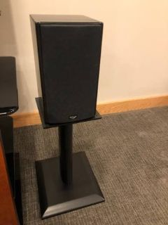 Klipsch Icon Series WB-14 Bookshelf speakers with stands