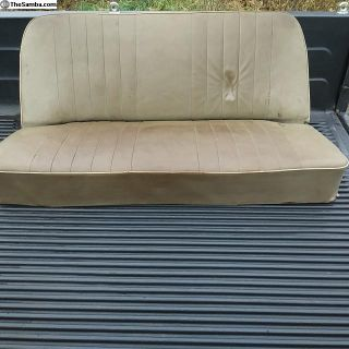 1955-56 Complete Rear Seat with backrest strap