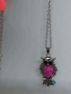 Owl necklace brand new