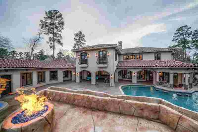 6 Legato Way The Woodlands Six BR, Opulent Carlton Woods Estate