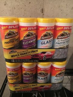 ARMOR ALL car cleaning wipes brand new