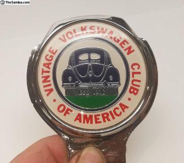 VVWCA Car Badge