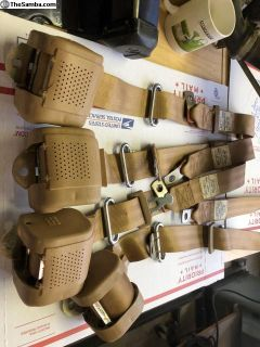 new rabbit seat belts OEM