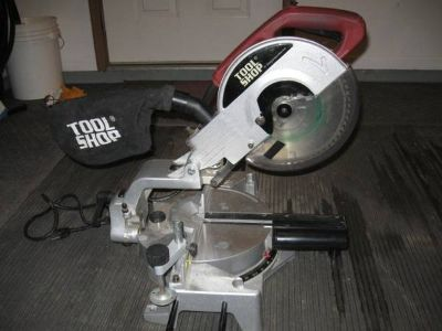"10"" Sliding Power Miter Saw"