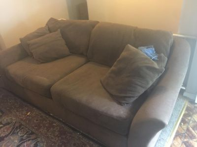 Overstuffed Large Couch
