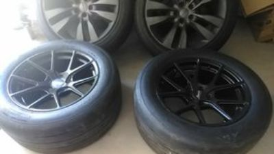 mickey Thompson track tires with bravado performance rims