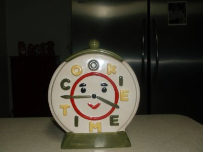 COLLECTABLE COOKIE JAR BY JON4L MINT CONDITION