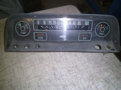Purchase 1965 Chevrolet truck gauge cluster vintage restoration hot rat rod motorcycle in Joliet, Illinois, United States, for US $79.95