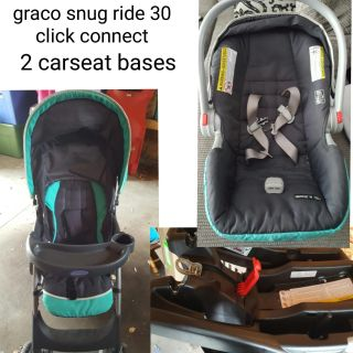 Graco snugride 30 click connect travel system