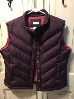 Maurice s puffer vest size XL