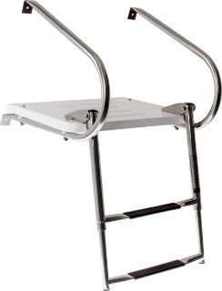 Find 2 STEP STAINLESS STEEL TELESCOPING BOAT LADDER PLATFORM-MARINE SWIM DECK (SP-2S) motorcycle in West Bend, Wisconsin, US, for US $159.99