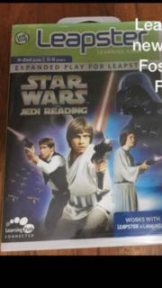 New Leapster Star Wars Jedi Reading game cartridge