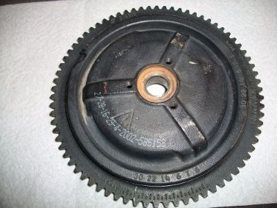 Buy 2004 Evinrude 25hp Outboard Motor Flywheel motorcycle in Independence, Missouri, United States, for US $95.00