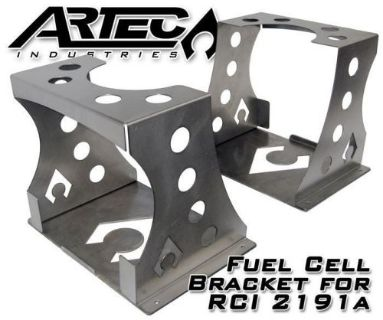 Purchase ARTEC Fuel Cell Mount for RCI 2191a 19 Gallon Universal FM2191 Raw motorcycle in Phoenix, Arizona, United States, for US $149.99