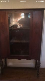 Make Offer. Vintage china cabinet Please make offer