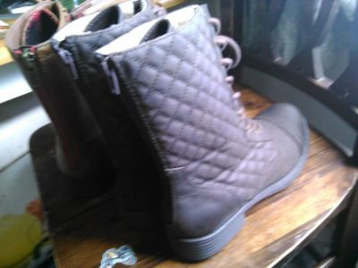 Size 10 New Boots 2 pairs