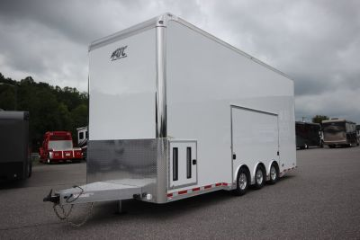 2020 ATC QUEST ST305 26FT Aluminum Stacker Car Trailer