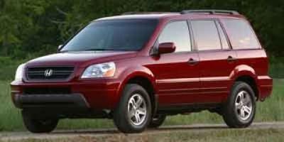 2003 Honda Pilot EX (Red)