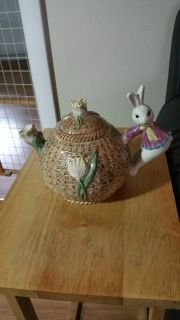 Bunny Tea or Coffee Pot