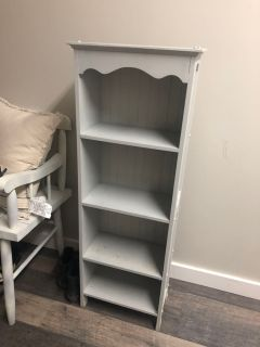 Gray shelf