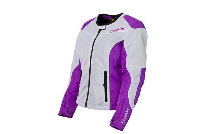 Purchase Scorpion Verano Purple Large Textile Motorcycle Womens Jacket Lrg Lg L motorcycle in Ashton, Illinois, US, for US $139.95