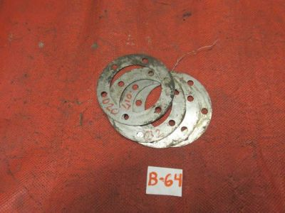 Sell Triumph TR3, TR4, Rear Axle Adjustment Shims, ONLY ONE SHIM, GC!! motorcycle in Kansas City, Missouri, United States, for US $3.99