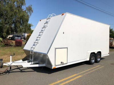 1997 TPD Extended height enclosed trailerEnclosed