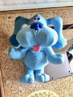 Vintage Blues Clues dog puppy stuffed plush animal
