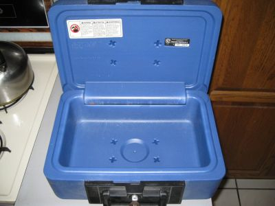 SAFE BOX , HIGH SECURITY FIRE PROOF MODEL # 1100