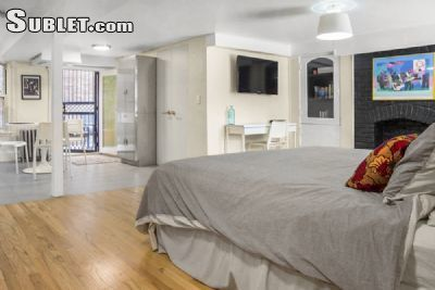 Studio Bedroom In Washington Heights