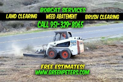 Land Brush Clearing, Weed Abatement Service - Murrieta
