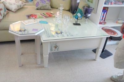 2pc Nautical Coffee & End Table Set (2135-37)