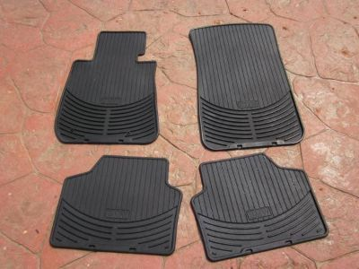 2008 BMW Xi Heavy Rubber Floor Mat Set of Four