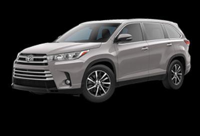 2019 Toyota Highlander XLE (Celestial Silver Metallic)