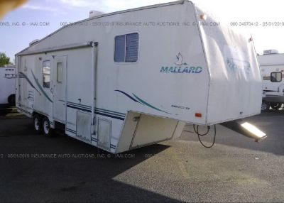 2001 FLEETWOOD TRAVEL TRAILER