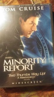 NEW DVD -MINORITY REPORT - SEALED SMALL TEAR IN PLASTIC WRAP